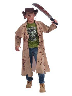 Child Zombie Slayer Costume