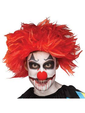 Killer Clown Adult Wig