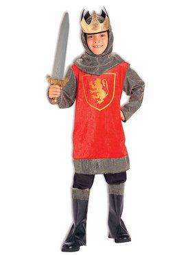 King Crusader Child Costume