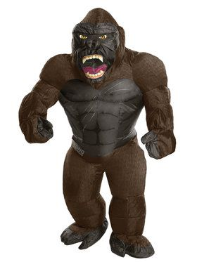 King Kong Inflatable One-Size Adult Costume