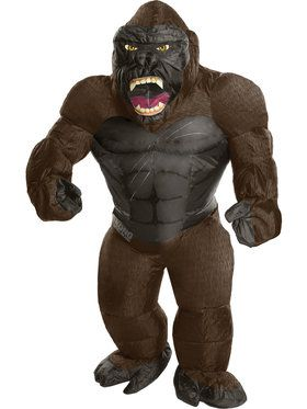 King Kong Inflatable One-Size Child Costume