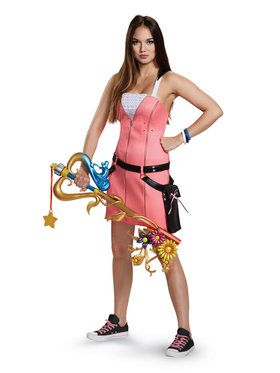 Kingdom Hearts Kairi Deluxe Adult Costume