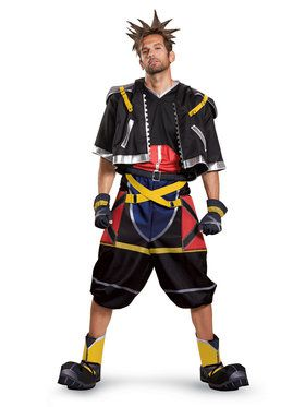Kingdom Hearts Sora Deluxe Teen/Adult Costume