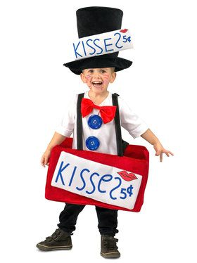 Kissing Booth Infant Costume 12M/2T