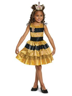 L.O.L Dolls Queen Bee Classic Toddler Costume  sc 1 st  BuyCostumes.com & Baby u003e All Baby u0026 Toddler Costumes