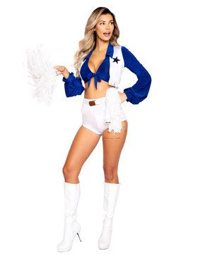 Women's Sassy Cheerleader Costume