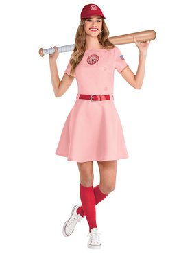 Ladies A League Of Their Own Rockford Peaches Costume