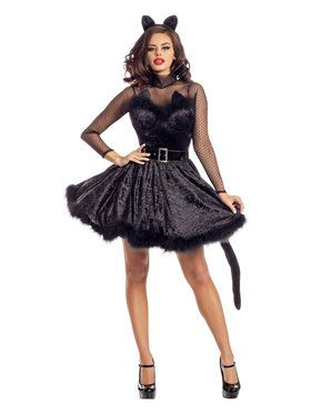 Classy Sassy Ladies Kitty Costume