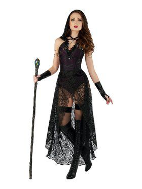 Sassy Dark Priestess Ladies Costume