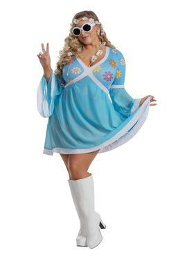 Sassy Ladies Flower Power Costume