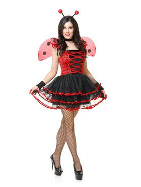 Lady Bug Cutie Adult Costume