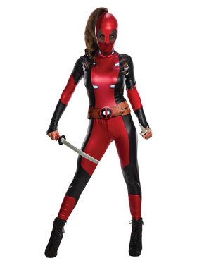Lady Deadpool Women's Costume