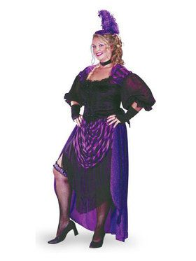 Lady Maverick Saloon Girl - Plus Size Co  sc 1 st  BuyCostumes.com & Plus Size Western Cowboys and Indians Costumes - Plus Size ...