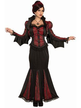 Lady Of Darkness - Adult Costume