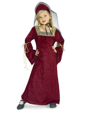 Lady of the Palace Children's Costume