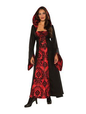 Lady Of The Shadows Adult Costume