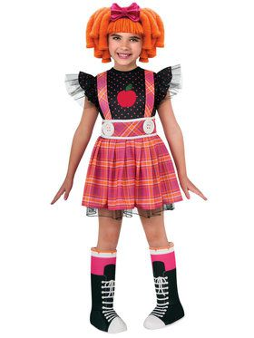 Lalaloopsy Deluxe Bea Spell-A-Lot Kids Costume