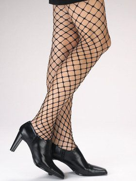 Large Loop Fishnet Pantyhose