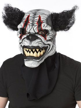 Clown Ani-Motion Face2018 Halloween Masks for Adults
