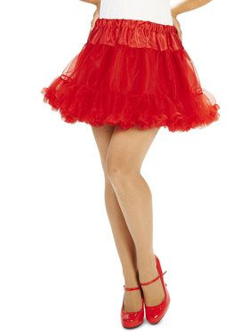 Layered Adult Tutu - Red