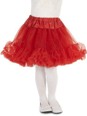 Layered Child Tutu - Red