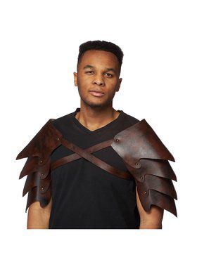 Shoulder Armor Leathery Accessory