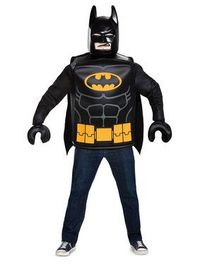 Adult Classic Batman Lego Batman Movie Costume
