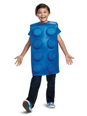 Lego Blue Brick Classic Child Costume