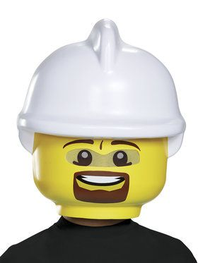 Lego Iconic - Firefighter Child Mask One Size