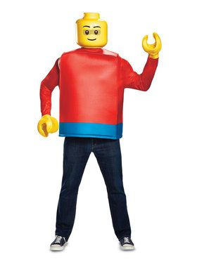 Lego Iconic Lego Guy Classic Adult Costume