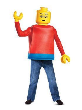 Lego Iconic Lego Guy Classic Child Costume
