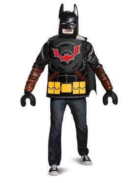 Lego Movie 2: Batman Adult Costume