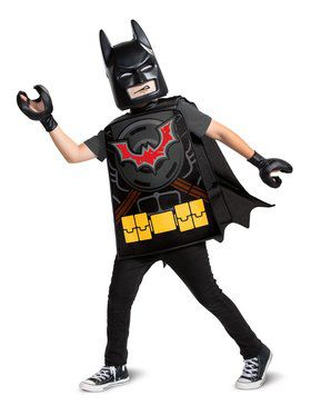 Lego Movie 2: Batman Basic Child Costume