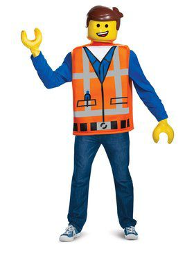 Lego Movie 2: Emmet Adult Costume