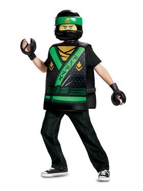 Child Lloyd Basic Lego Ninjago Costume