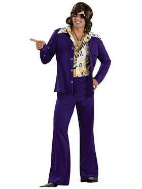 Leisure Suit Deluxe Men's Costume
