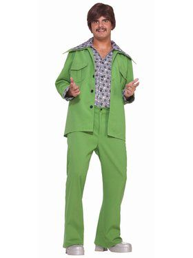 Leisure Suit - Green Adult Costume