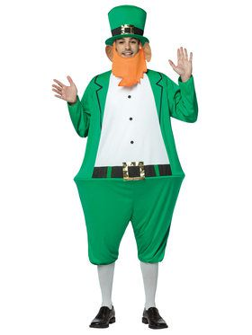 Leprechaun Hoopster Adult Costume Standard