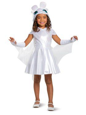 Light Fury Classic Toddler Costume