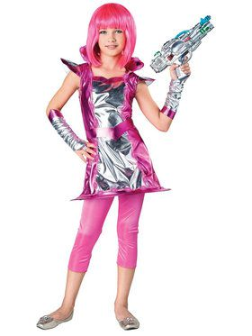 Light Up Cosmic Girl Child Costume