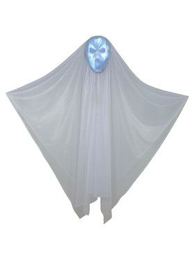 Hidden Face 60-inch Light-Up Ghost Prop