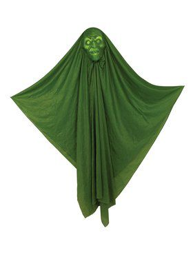 Hidden Face 60-inch Light-Up Witch Prop