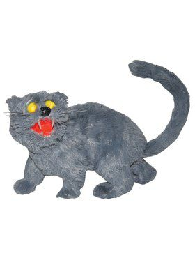Sonic Sound Light Up Gray Cat Prop