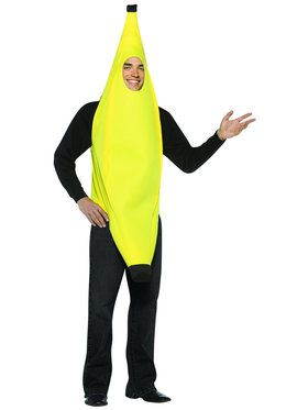 Light Weight Banana Adult Costume
