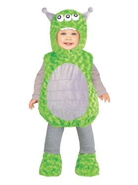 Lil' Alien Toddler Costume