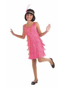 Girls Lil Miss Flapper Costume