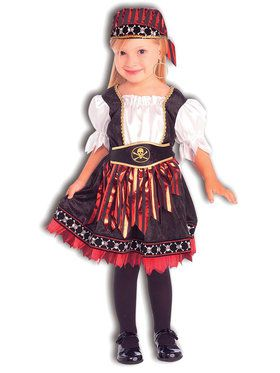 Lil' Pirate Cutie Toddler / Child Costume