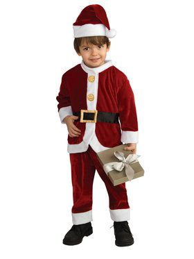 Lil' Santa Toddler Suit Child Costume
