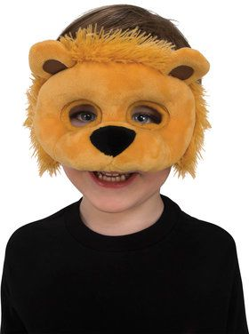 Lion Plush Eye Mask