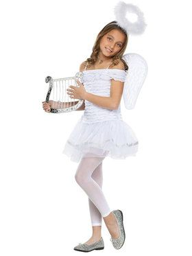 Little Angel Child Costume